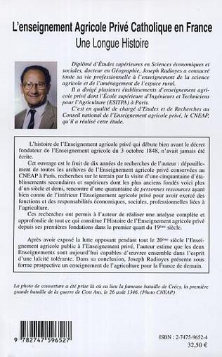 4eme L'enseignement Agricole Privé Catholique en France