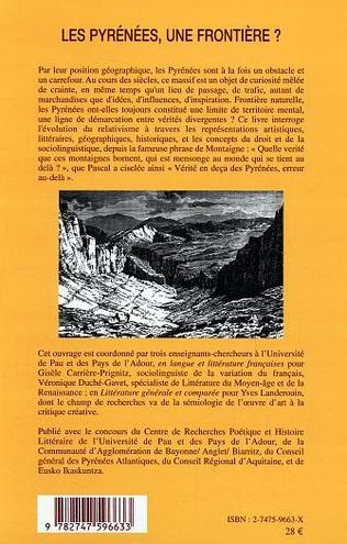 4eme Les Pyrénées, une frontière ?