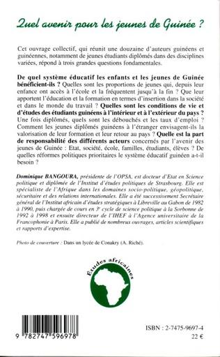 4eme Quel avenir pour les jeunes de Guinée ?