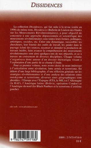 4eme Révolution, lutte armée et terrorisme