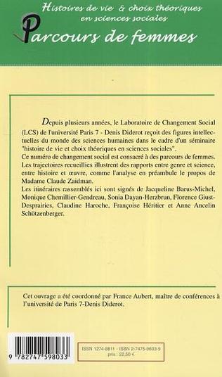 4eme Histoires de vie et choix théoriques en sciences sociales