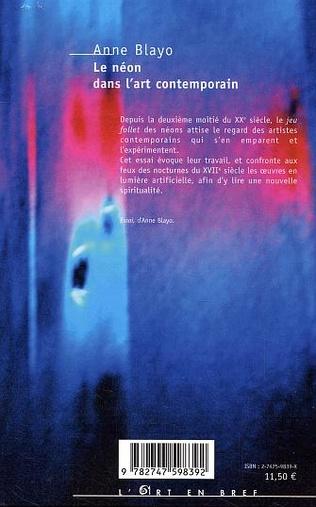 4eme Le néon dans l'art contemporain