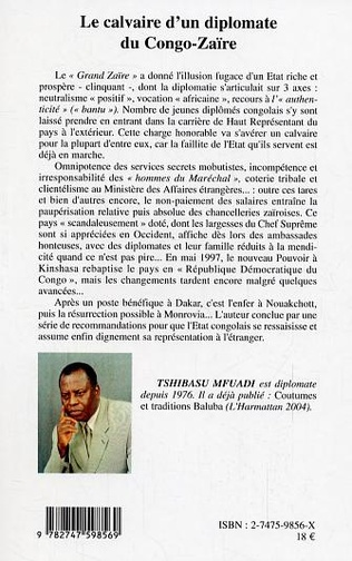 4eme Le calvaire d'un diplomate du Congo-Zaïre