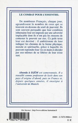 4eme LE COMBAT POUR L'ESSENTIEL