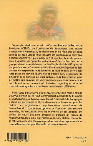 4eme La nouvelle question indigène