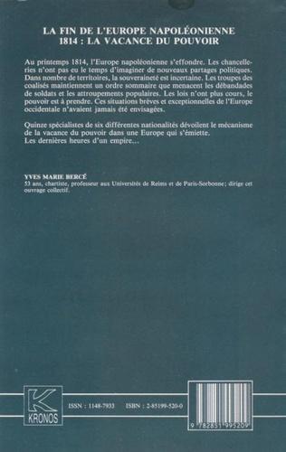 4eme La fin de l'Europe napoléonienne
