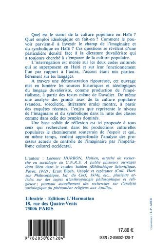 4eme Culture et dictature en Haïti