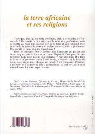 4eme La terre africaine et ses religions