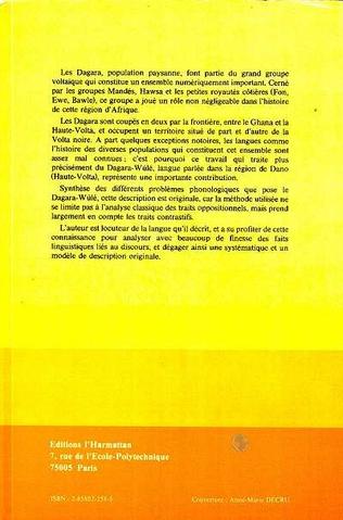 4eme Systématique du signifiant en Dagara: variété Wulé