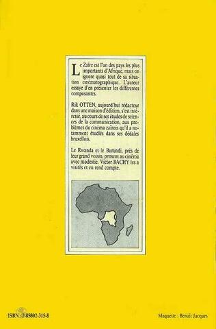4eme Le Cinéma au Zaïre, au Rwanda et au Burundi
