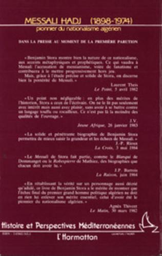 4eme Messali Hadj (1898-1974)