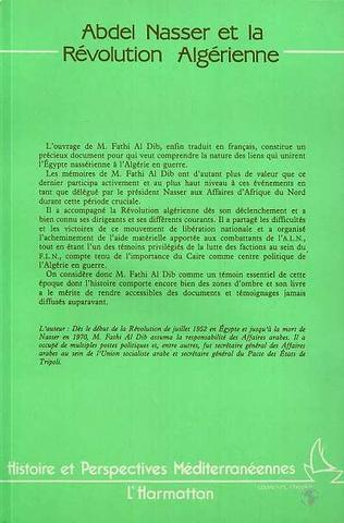 4eme Abdel Nasser et la révolution algérienne
