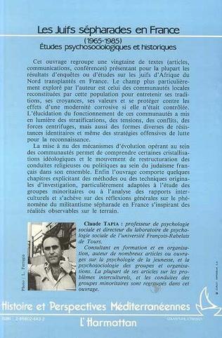 4eme Les Juifs sépharades en France