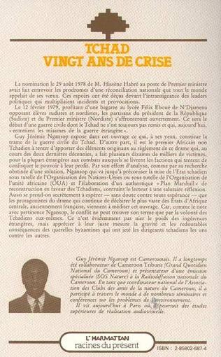 4eme Tchad, vingt ans de crise
