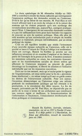 4eme Cameroun, la fin du maquis?