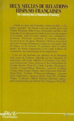 4eme Deux siècles de relations hispano-françaises