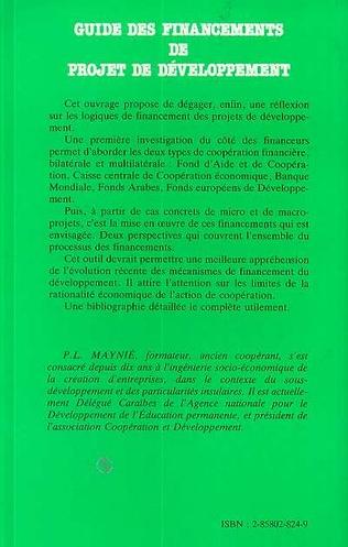 4eme Guide de financement des projets de développement