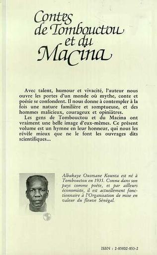4eme Contes de Tombouctou et de Macina