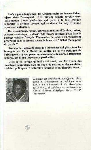 4eme Des Africains noirs en France