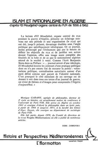 4eme Islam et nationalisme en Algérie