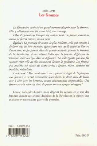 4eme 1789-1793 Les femmes