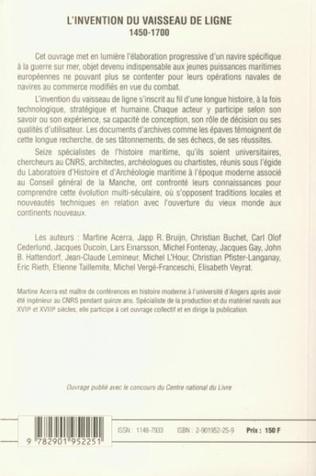 4eme L'invention du vaisseau de ligne 1450-1700