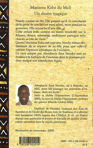 4eme Mariama Kaba du Mali