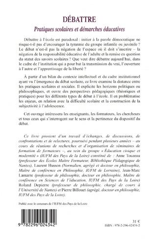 4eme Débattre