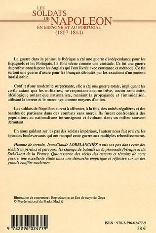 4eme Les soldats de Napoléon en Espagne et au Portugal