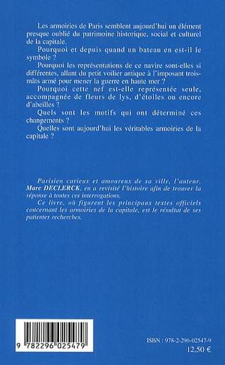 4eme Les armoiries de Paris
