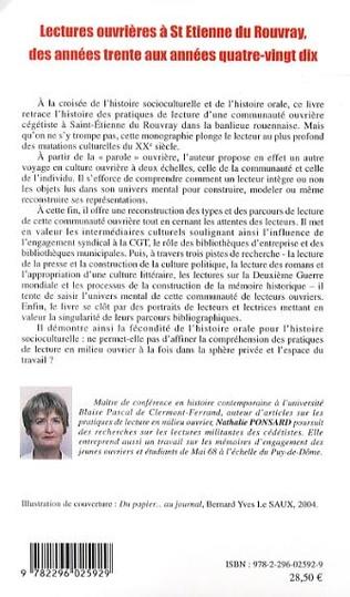 4eme Lectures ouvrières à St-Etienne du Rouvray