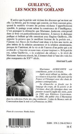4eme Guillevic, les noces du Goéland