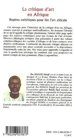 4eme La critique d'art en Afrique