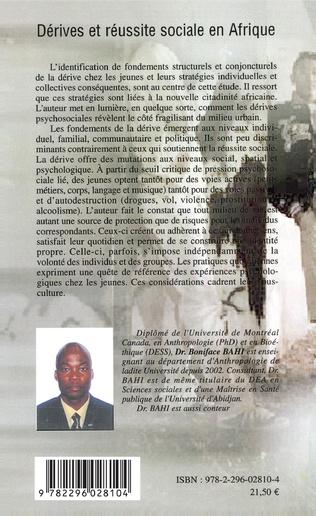 4eme Dérives et réussite sociale en Afrique