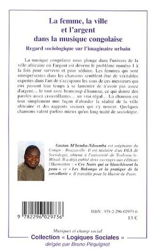 4eme La femme, la ville et l'argent dans la musique congolaise