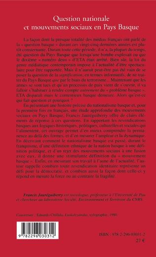 4eme Question nationale et mouvements sociaux en Pays Basque