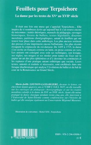 4eme Feuillets pour Terpsichore