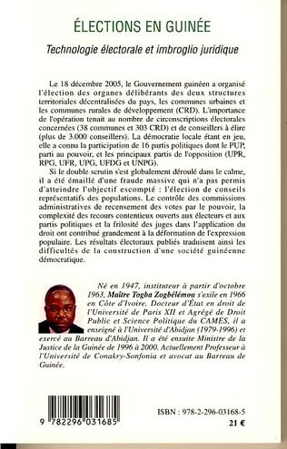 4eme Elections en Guinée