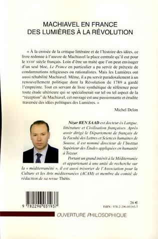 4eme Machiavel en France