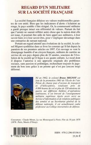 4eme Regard d'un militaire sur la société française