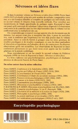 4eme Névroses et idées fixes - Volume II