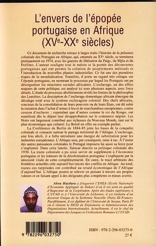 4eme L'envers de l'épopée portugaise en Afrique (XVe-XXe siècles)