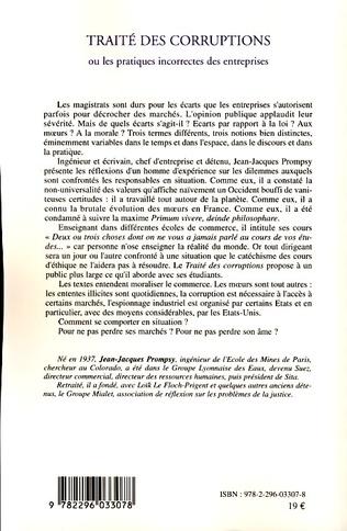 4eme Traité des corruptions