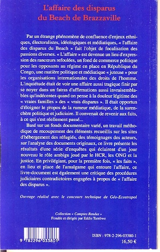4eme L'affaire des disparus du beach de Brazzaville