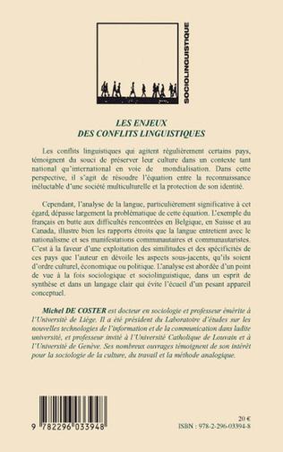4eme Les enjeux des conflits linguistiques