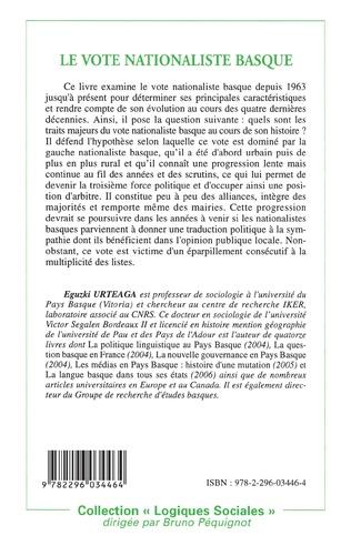4eme Le vote nationaliste basque