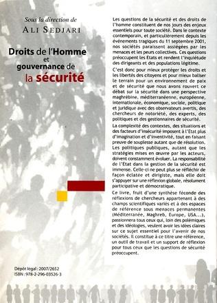 4eme Droits de l'Homme et gouvernance de la sécurité