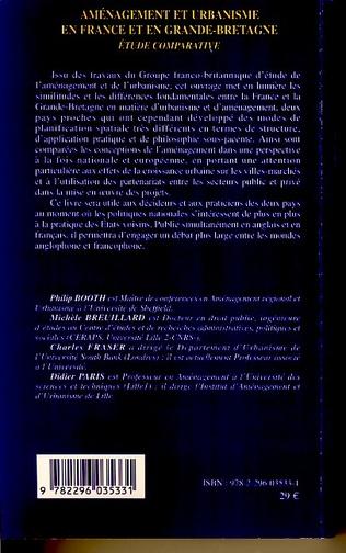 4eme Aménagement et urbanisme en France et en Grande-Bretagne