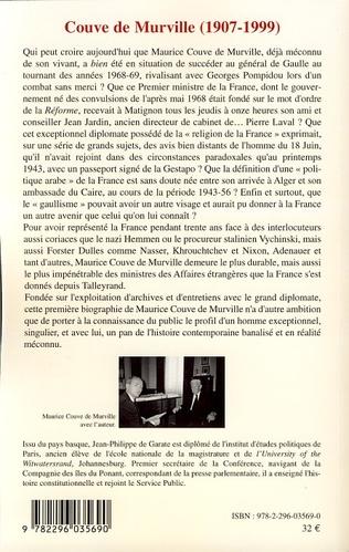 4eme Couve de Murville (1907-1999)