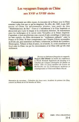 4eme Les voyageurs français en Chine aux XVIIème et XVIIIème siècles